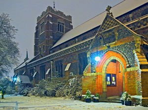 St. Johns in the Snow